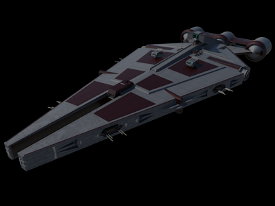 Arquitens Light Cruiser Frigate The Kingdom Of Lyceum