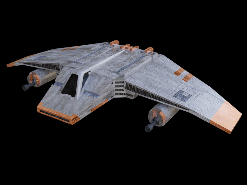 Vehicles: Speeders - V-Wing Airspeeder - Star Wars Combine::