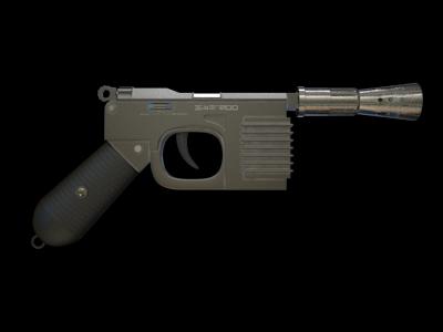 HSB-200 hold-out blaster pistol